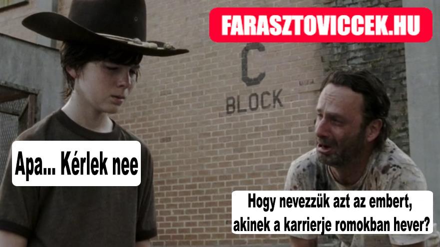 Régésznek Carl vicc